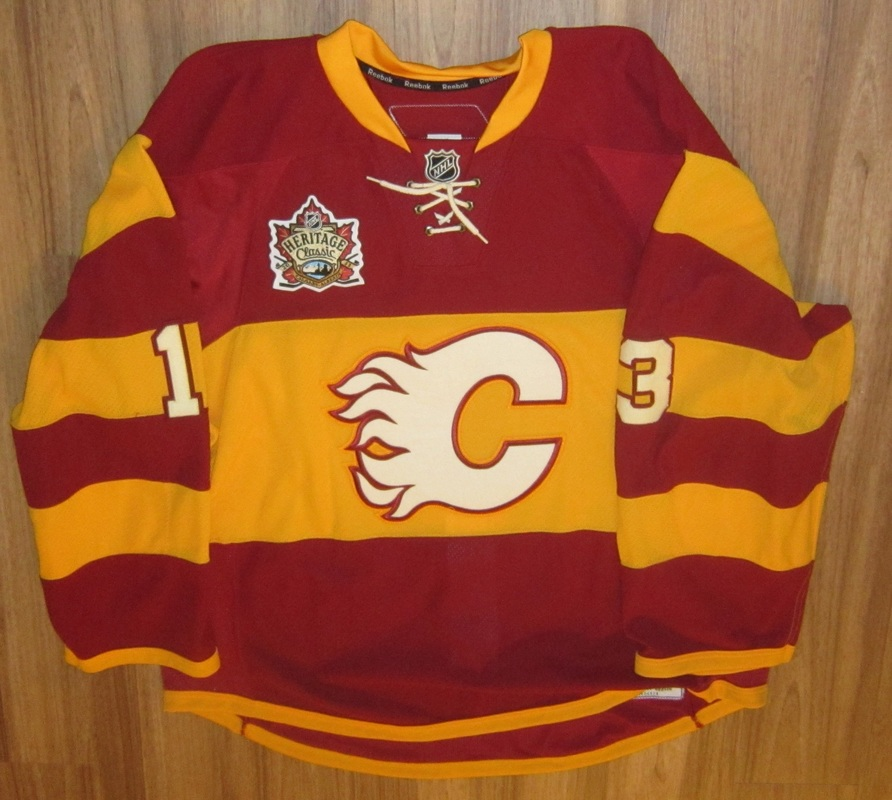 competitive price ed826 6c603 sale calgary flames heritage jersey b314a bf3b7